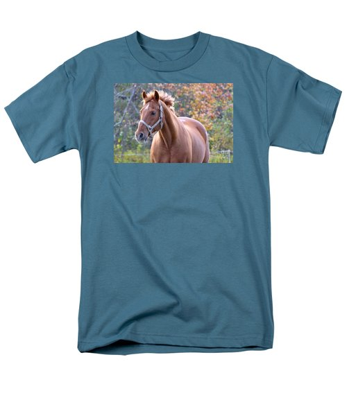 Men's T-Shirt  (Regular Fit) featuring the photograph Horse Muscle by Glenn Gordon