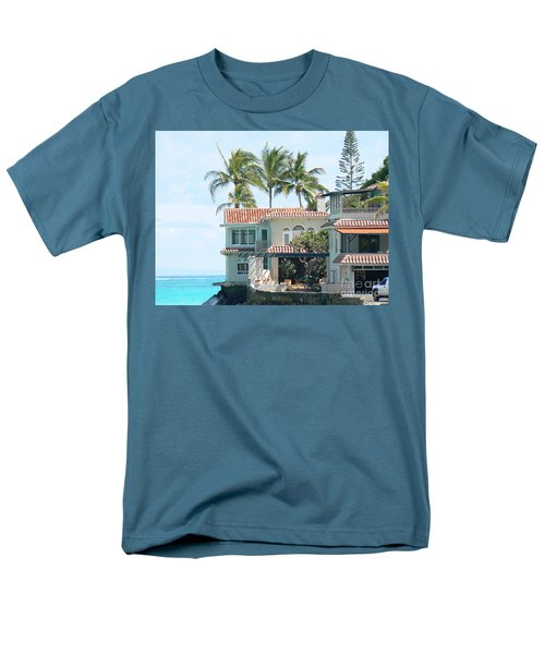 House At Land's End Men's T-Shirt  (Regular Fit) by Dona  Dugay