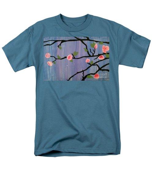Men's T-Shirt  (Regular Fit) featuring the painting Humble Splash by Marisela Mungia
