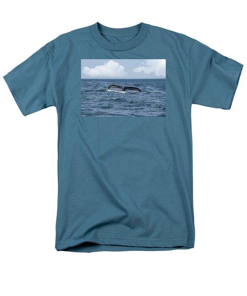 Humpback Whale Fin Men's T-Shirt  (Regular Fit) by Juli Scalzi