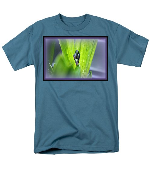 Men's T-Shirt  (Regular Fit) featuring the photograph Hyacinth For Micah by Katie Wing Vigil