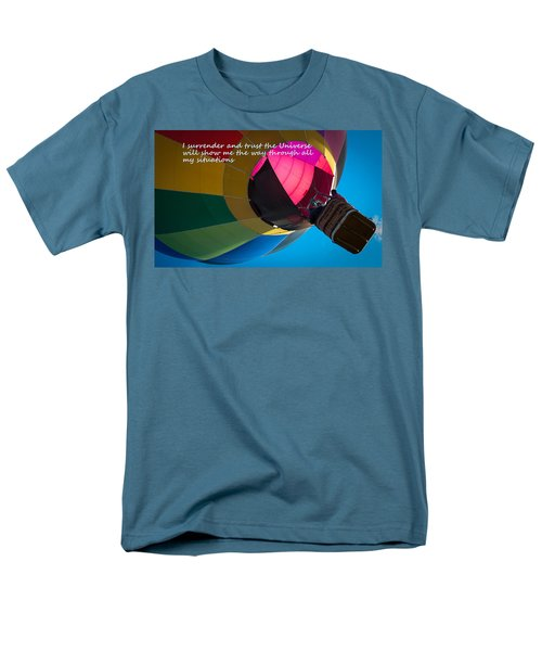 Men's T-Shirt  (Regular Fit) featuring the photograph I Surrender And Trust by Patrice Zinck