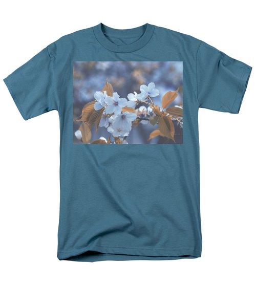 Men's T-Shirt  (Regular Fit) featuring the photograph In Blue by Rachel Mirror