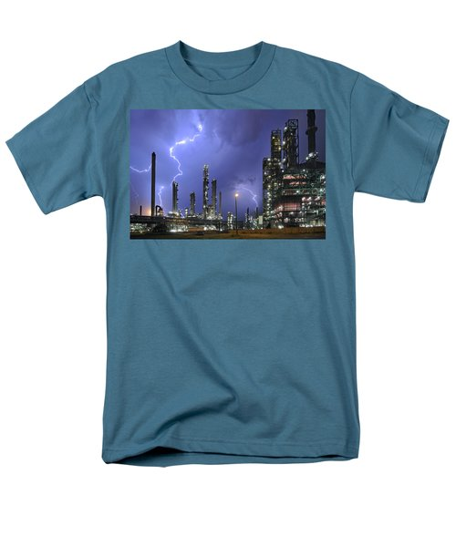Lightning Men's T-Shirt  (Regular Fit) by Arterra Picture Library