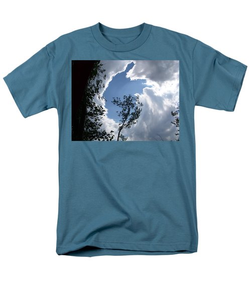 Men's T-Shirt  (Regular Fit) featuring the photograph Into The Sky by Aimee L Maher Photography and Art Visit ALMGallerydotcom