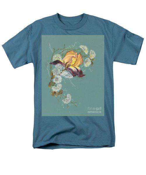 Iris Garland Men's T-Shirt  (Regular Fit) by Doreta Y Boyd