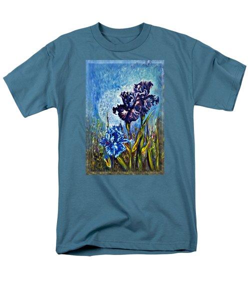 Iris Men's T-Shirt  (Regular Fit) by Harsh Malik