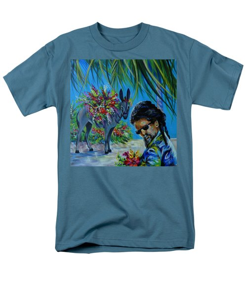 Jamaica.part One Men's T-Shirt  (Regular Fit) by Anna  Duyunova