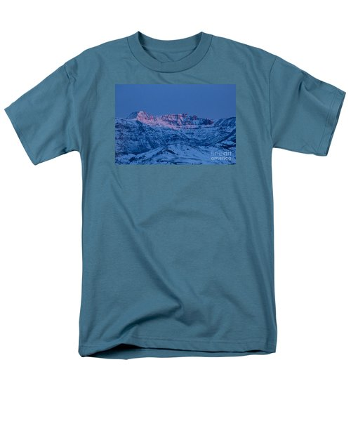 Jim Mountain-signed Men's T-Shirt  (Regular Fit) by J L Woody Wooden