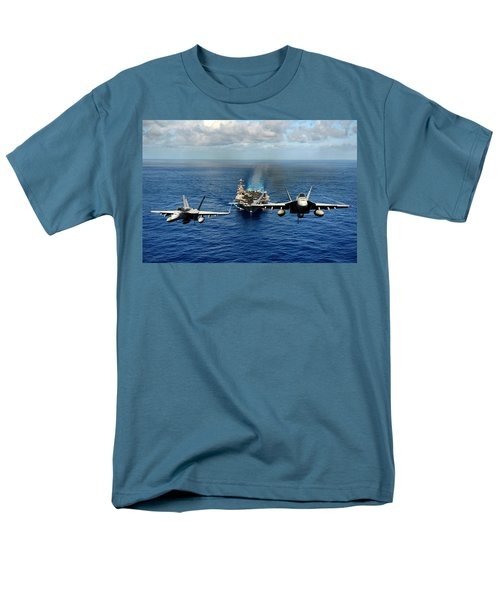 John C. Stennis Carrier Strike Group Men's T-Shirt  (Regular Fit)