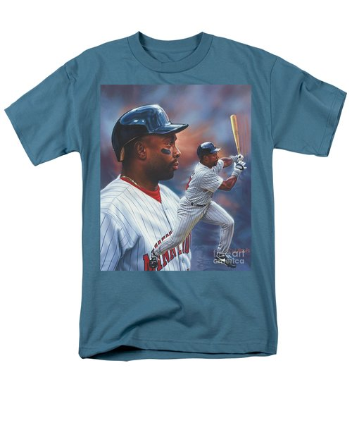 Kirby Puckett Minnesota Twins Men's T-Shirt  (Regular Fit)