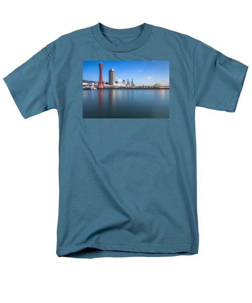 Kobe Port Island Tower Men's T-Shirt  (Regular Fit) by Hayato Matsumoto