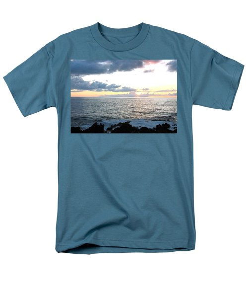 Kona  North Men's T-Shirt  (Regular Fit) by Angela J Wright