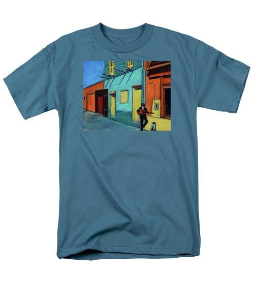 La Boca Morning II Men's T-Shirt  (Regular Fit) by Xueling Zou