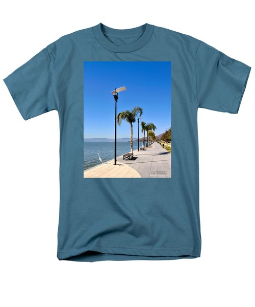 Men's T-Shirt  (Regular Fit) featuring the photograph Lake Chapala - Mexico by David Perry Lawrence