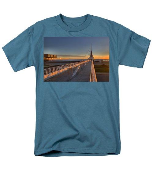 Lake Front View Men's T-Shirt  (Regular Fit) by Daniel Sheldon