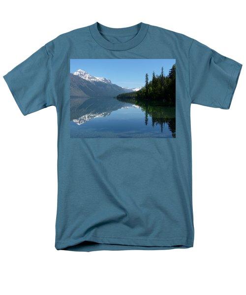 Lake Mcdonald - Glacier National Park Men's T-Shirt  (Regular Fit) by Lucinda Walter