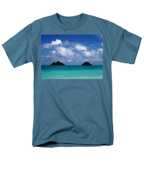 Lanikai Men's T-Shirt  (Regular Fit) by Art Shimamura
