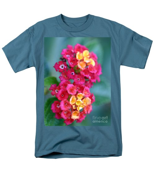 Men's T-Shirt  (Regular Fit) featuring the photograph Lantana by Henrik Lehnerer