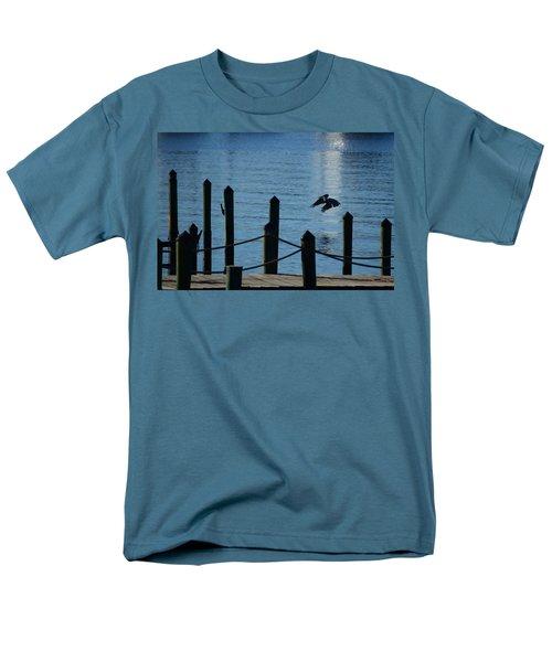 Last Light Flight Men's T-Shirt  (Regular Fit) by Susan Molnar