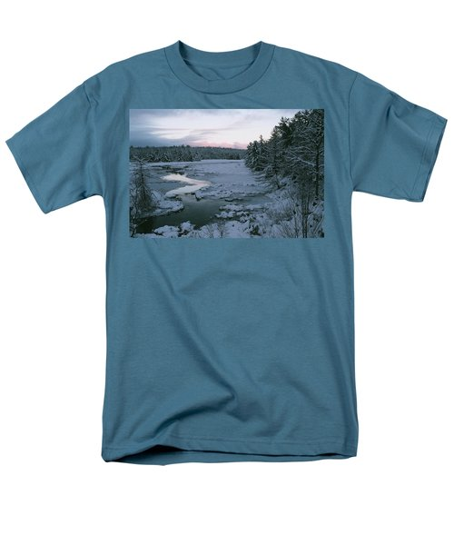 Men's T-Shirt  (Regular Fit) featuring the photograph Late Afternoon In Winter by David Porteus