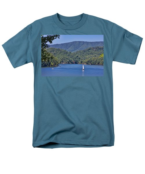 Late Summer Cruising  Men's T-Shirt  (Regular Fit) by Tom Culver