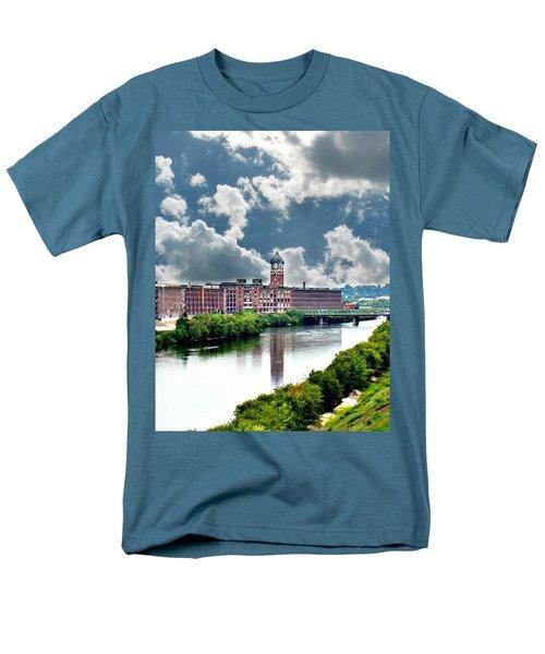Lawrence Ma Historic Clock Tower Men's T-Shirt  (Regular Fit)