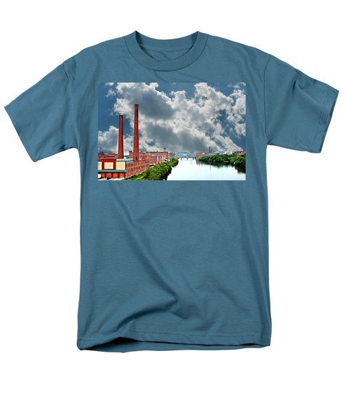 Lawrence Ma Skyline Men's T-Shirt  (Regular Fit) by Barbara S Nickerson