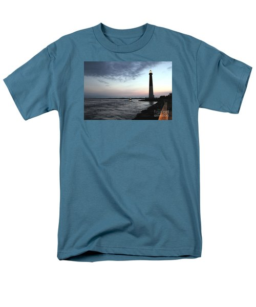Men's T-Shirt  (Regular Fit) featuring the photograph Light At Dawn by David Jackson