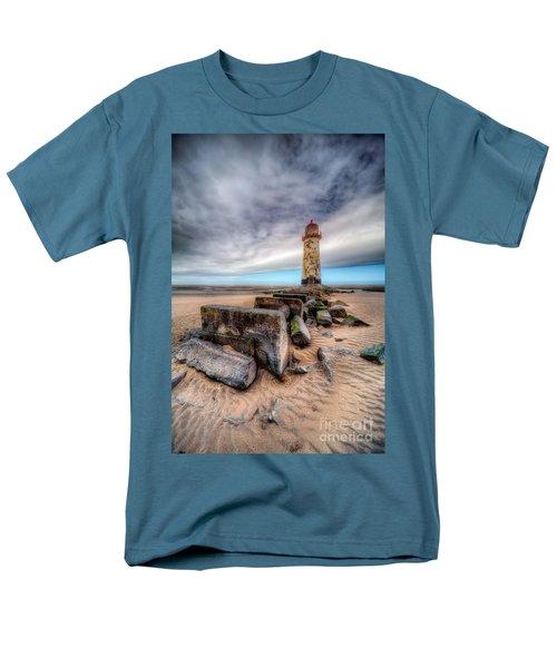 Lighthouse At Talacre  Men's T-Shirt  (Regular Fit)