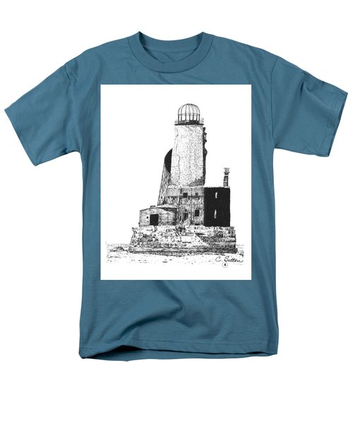 Lighthouse Men's T-Shirt  (Regular Fit) by C Sitton