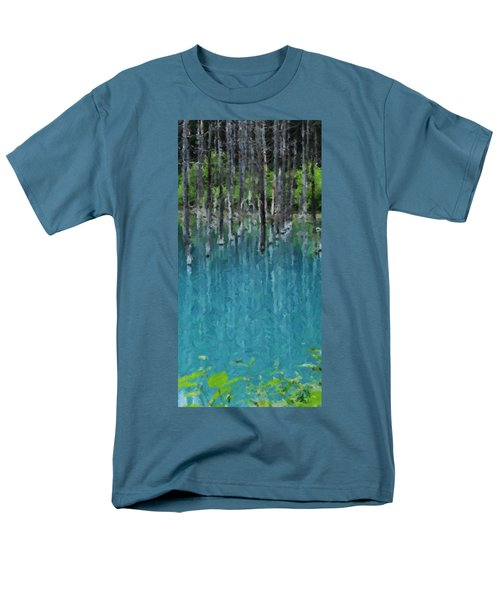 Liquid Forest Men's T-Shirt  (Regular Fit) by David Hansen