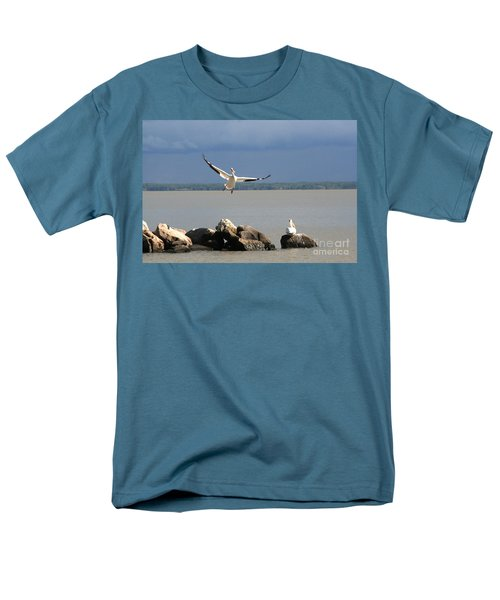 Look Ma - I Can Fly Men's T-Shirt  (Regular Fit) by Mary Mikawoz