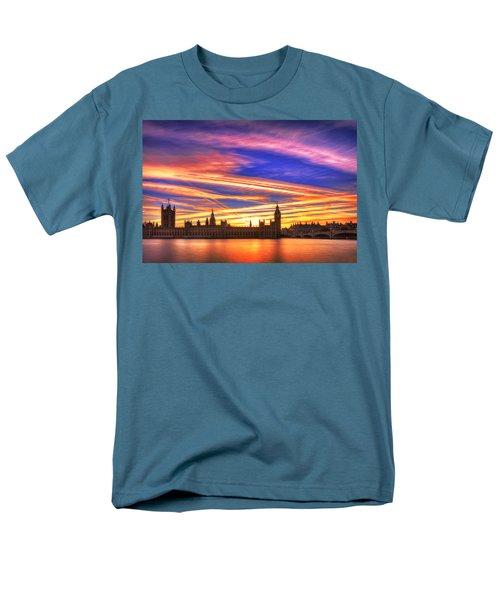 Magical London Men's T-Shirt  (Regular Fit) by Midori Chan