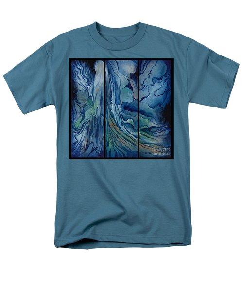 Marina Triptych Men's T-Shirt  (Regular Fit)