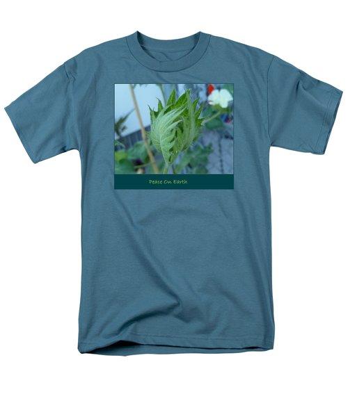 May Peace On Earth Men's T-Shirt  (Regular Fit) by Lingfai Leung