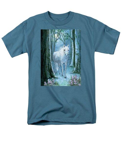 Men's T-Shirt  (Regular Fit) featuring the painting Midsummer Dream by Terry Webb Harshman