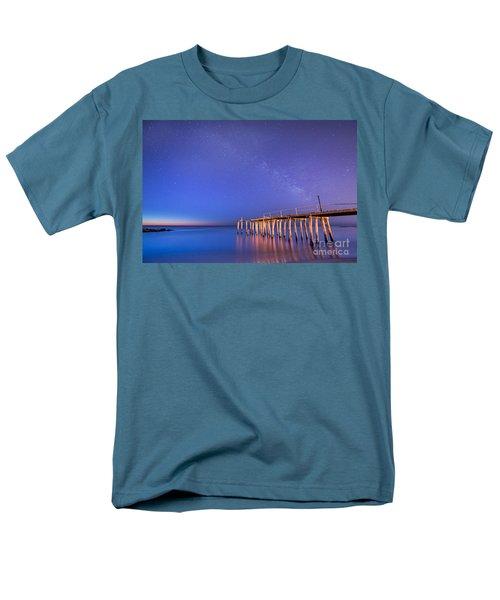Milky Way Sunrise Men's T-Shirt  (Regular Fit) by Michael Ver Sprill