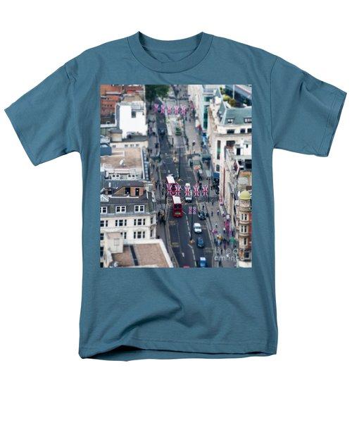 Miniature Oxford Street Men's T-Shirt  (Regular Fit) by Matt Malloy