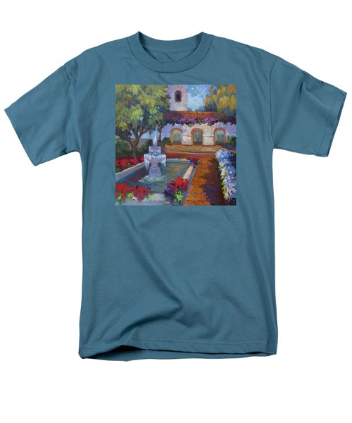 Mission Via Dolorosa Men's T-Shirt  (Regular Fit) by Diane McClary