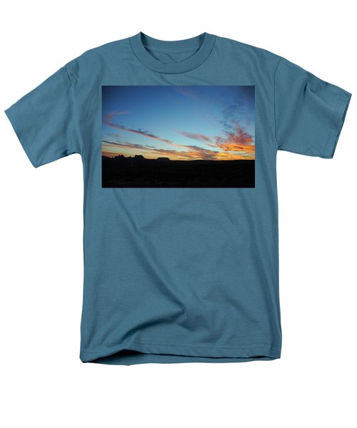 Monument Valley Sunset 2 Men's T-Shirt  (Regular Fit)