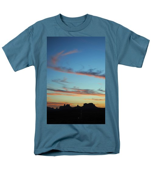 Monument Valley Sunset 3 Men's T-Shirt  (Regular Fit)