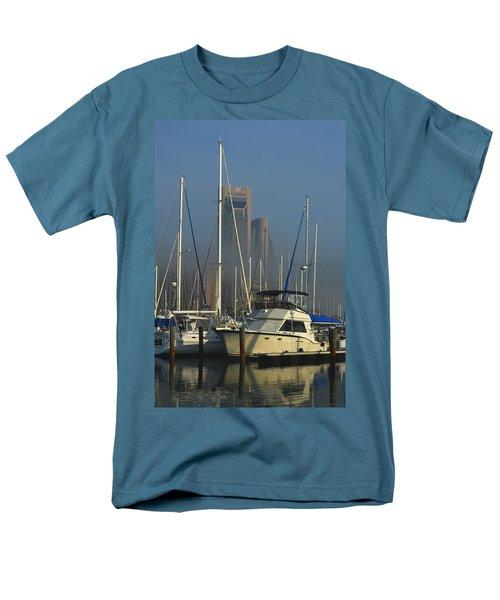 Morning Fog Ll Men's T-Shirt  (Regular Fit) by Leticia Latocki