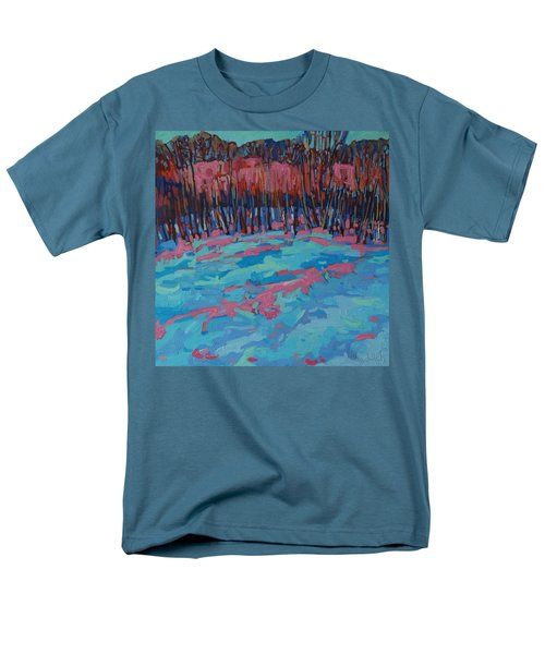 Morning Forest Men's T-Shirt  (Regular Fit) by Phil Chadwick