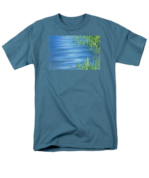 Morning On The Pond Men's T-Shirt  (Regular Fit) by Troy Levesque