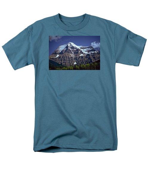 Men's T-Shirt  (Regular Fit) featuring the photograph Mount Robson by Richard Farrington