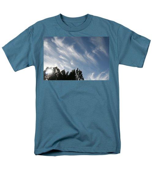 Mountain Sky Men's T-Shirt  (Regular Fit) by David S Reynolds