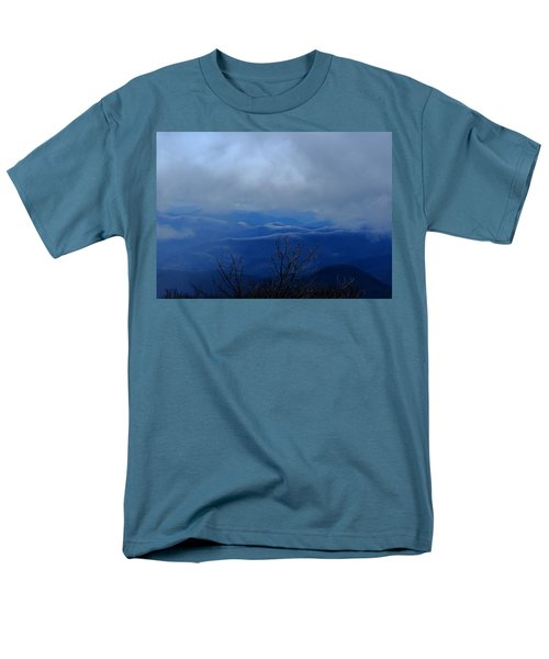 Mountains And Ice Men's T-Shirt  (Regular Fit) by Daniel Reed