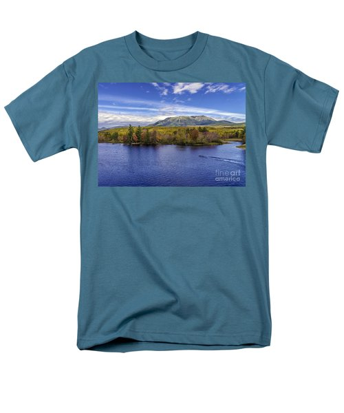 Mt Katahdin Hdr Men's T-Shirt  (Regular Fit) by Glenn Gordon