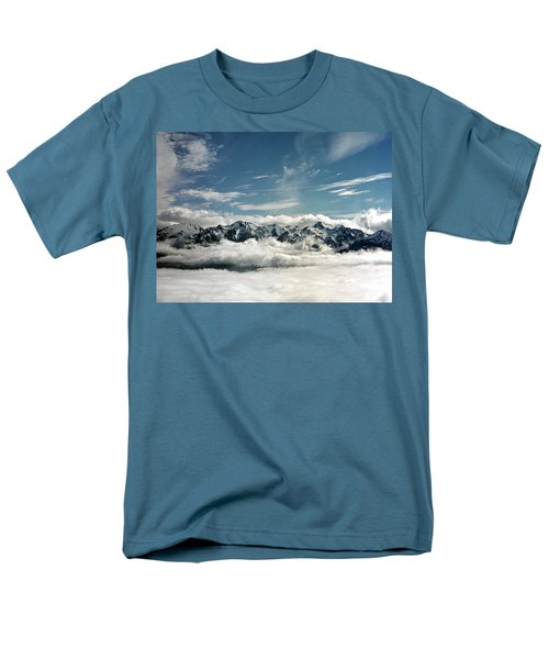 Men's T-Shirt  (Regular Fit) featuring the photograph Mt Olympus by Greg Reed